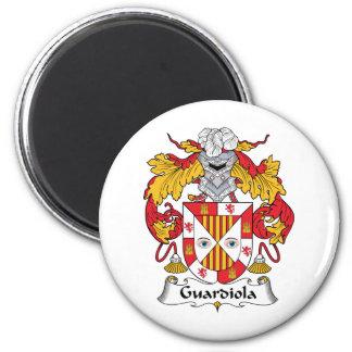 Escudo de la familia de Guardiola Imán Redondo 5 Cm