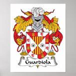 Escudo de la familia de Guardiola Impresiones