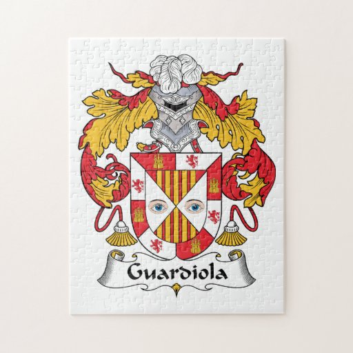 Escudo de la familia de Guardiola Rompecabeza