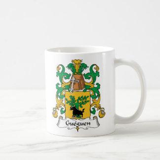 Escudo de la familia de Gueguen Tazas De Café