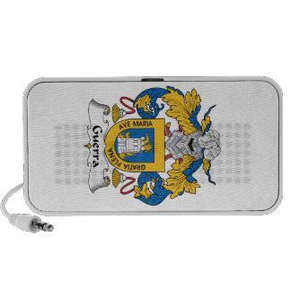 Escudo de la familia de Guerra iPhone Altavoz