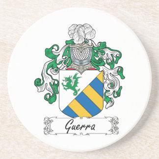 Escudo de la familia de Guerra Posavasos Diseño