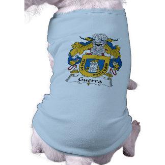 Escudo de la familia de Guerra Camisas De Mascota