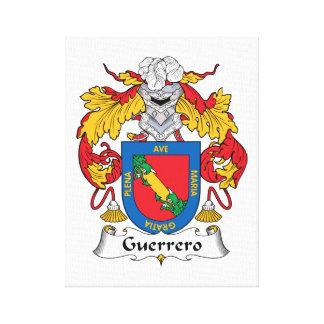 Escudo de la familia de Guerrero Impresiones De Lienzo