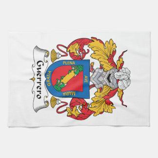 Escudo de la familia de Guerrero Toalla De Cocina