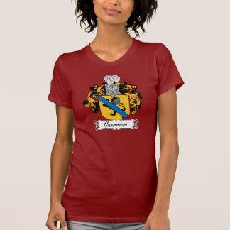 Escudo de la familia de Guerrieri Camiseta