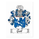 Escudo de la familia de Guidi Postal
