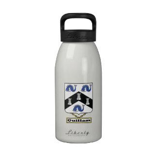 Escudo de la familia de Guillam Botella De Agua
