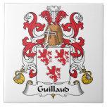 Escudo de la familia de Guillaud Tejas