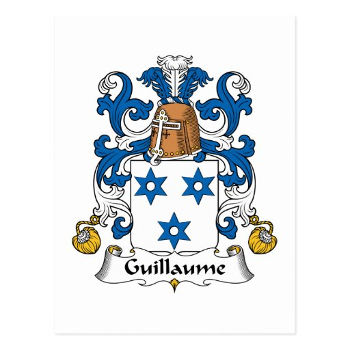 Escudo de la familia de Guillaume Postales