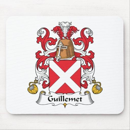 Escudo de la familia de Guillemet Mouse Pads