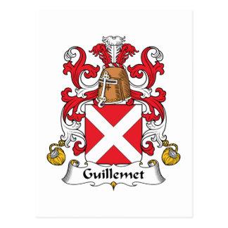 Escudo de la familia de Guillemet Postal