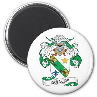 Escudo de la familia de Guillen Imán Redondo 5 Cm