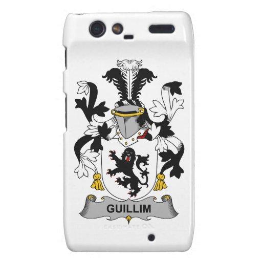Escudo de la familia de Guillim Droid RAZR Fundas