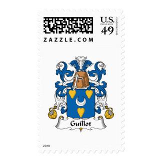 Escudo de la familia de Guillot Franqueo