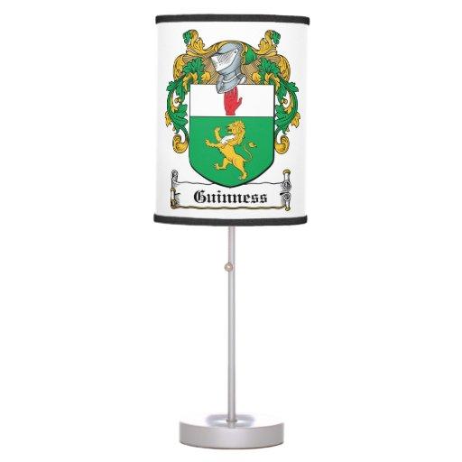 Escudo de la familia de Guinness