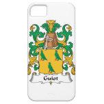 Escudo de la familia de Guiot iPhone 5 Carcasa