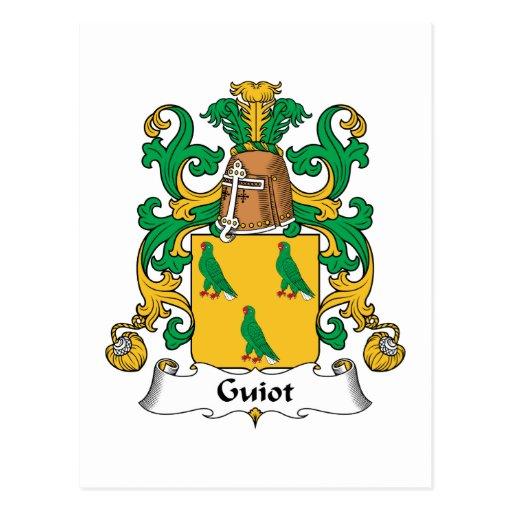 Escudo de la familia de Guiot Postal