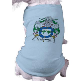 Escudo de la familia de Guitarra Camisa De Perro
