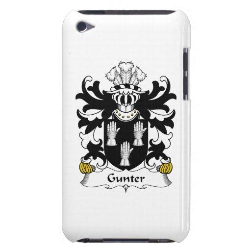 Escudo de la familia de Gunter iPod Case-Mate Cárcasas
