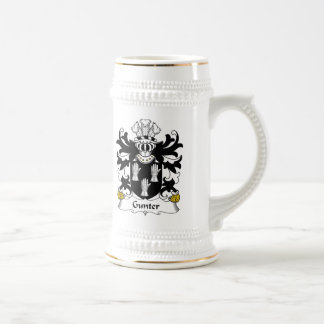 Escudo de la familia de Gunter Jarra De Cerveza