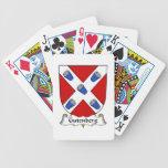 Escudo de la familia de Gutenberg Baraja Cartas De Poker
