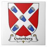Escudo de la familia de Gutenberg Tejas