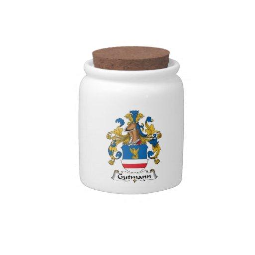 Escudo de la familia de Gutmann Platos Para Caramelos