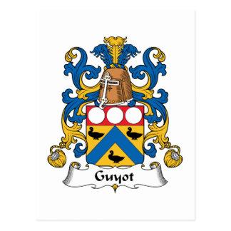 Escudo de la familia de Guyot Postales