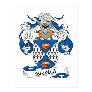 Escudo de la familia de Guzman Postal