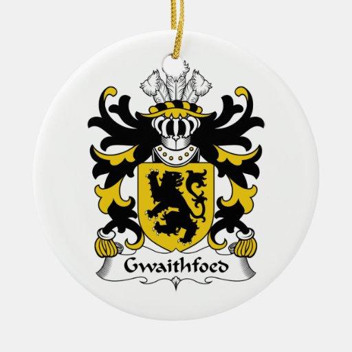 Escudo de la familia de Gwaithfoed Ornamentos De Reyes Magos