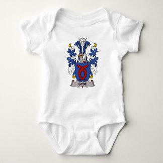 Escudo de la familia de Gyde Body Para Bebé