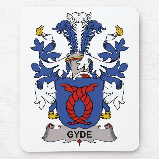 Escudo de la familia de Gyde Tapetes De Ratones