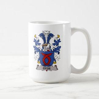 Escudo de la familia de Gyde Taza Básica Blanca