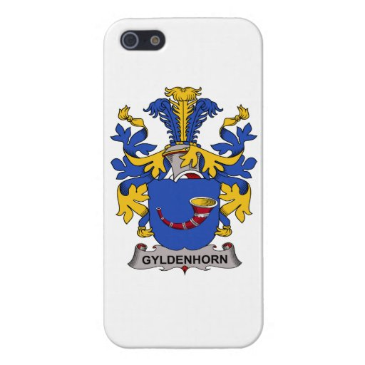 Escudo de la familia de Gyldenhorn iPhone 5 Fundas