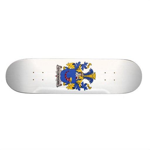 Escudo de la familia de Gyldenhorn Tabla De Skate