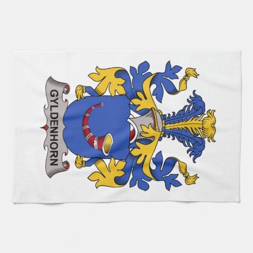 Escudo de la familia de Gyldenhorn Toalla