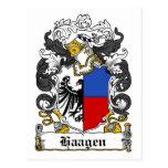 Escudo de la familia de Haagen Postal