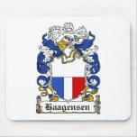Escudo de la familia de Haagensen Tapete De Ratones