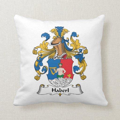 Escudo de la familia de Haberl Cojines