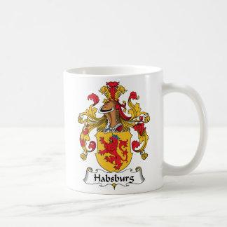 Escudo de la familia de Habsburgo Taza
