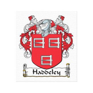 Escudo de la familia de Haddeley Impresiones En Lona