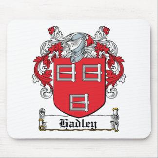 Escudo de la familia de Hadley Alfombrillas De Raton