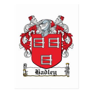 Escudo de la familia de Hadley Postales
