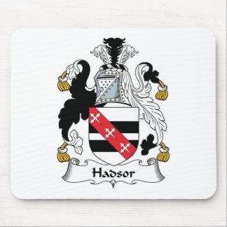 Escudo de la familia de Hadsor Mouse Pad