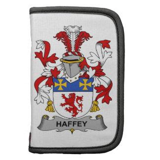 Escudo de la familia de Haffey Planificadores