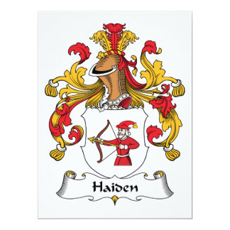 Escudo de la familia de Haiden