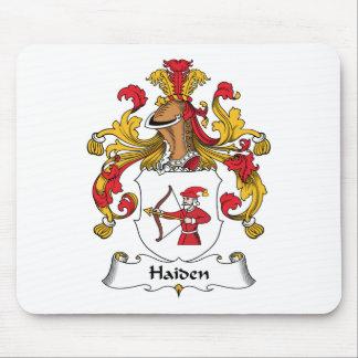 Escudo de la familia de Haiden Tapetes De Raton