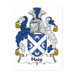 Escudo de la familia de Haig Postal