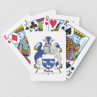 Escudo de la familia de Haley Cartas De Juego